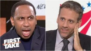 'Are you trying to tick me off, Max Kellerman?!' – Stephen A. flips out | First Take