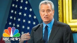 NYC Mayor Bill de Blasio Holds Press Conference On Coronavirus | NBC News (Live Stream Recording)