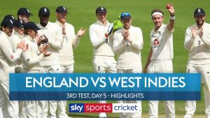 England beat West Indies as Broad makes history | England vs West Indies 3rd Test Day 5 Highlights